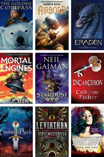 YA Fantasy book covers