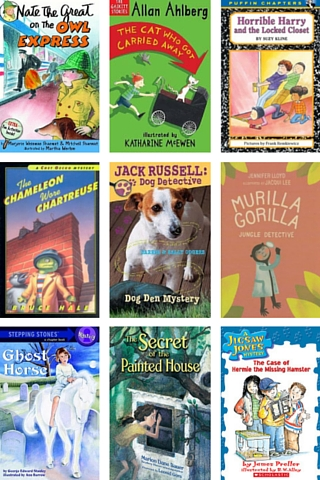 Shivering Mysteries! 2nd – 3rd Grade Reading List